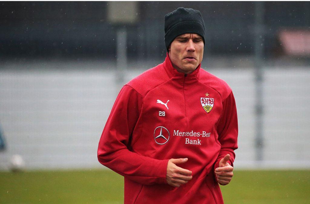 Holger Badstuber arbeitet bislang noch individuell an seiner Rückkehr. Foto: Baumann