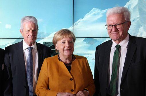 Zwischen Kretschmann und Merkel scheint das Klima zu stimmen