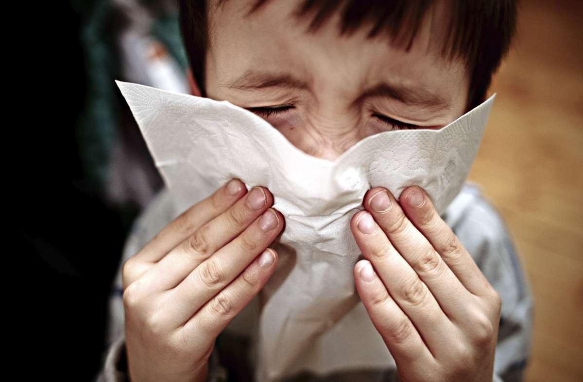 """""""Gesundheit!"""" Das ist das erste, was man jemandem wünscht, wenn er niest. Foto: Nicolas Armer/dpa"""