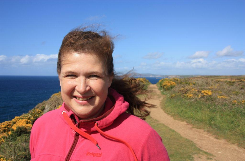 Die Stuttgarter Reisebloggerin Antje Gerstenecker hat den Merian-Reiseführer über Cornwall geschrieben Foto: Gerstenecker