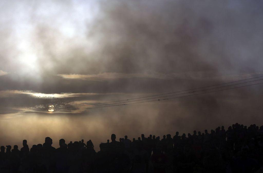 Laut Hamas gab es keine Toten. (Symbolbild) Foto: AP