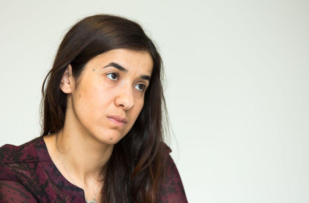 Die Jesidin Nadia Murad war in der Gefangenschaft der Terrormiliz Islamischer Staat. Foto: dpa