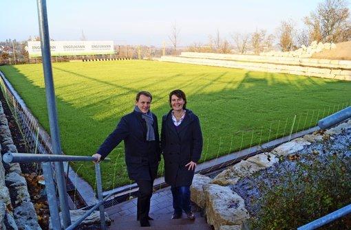 Am Weissenhof wächst Wimbledon-Gras