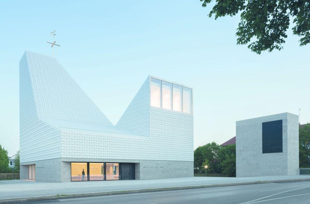 Die Große Nike 2019 des BDA geht an das Kirchenzentrum Seliger Pater Rupert Mayer in Poing bei München. Foto: Florian Holzherr