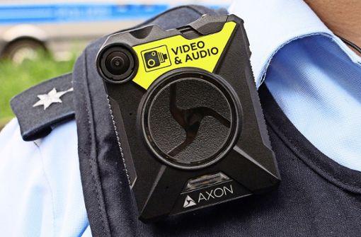 Bis zum Sommer hat jede Polizeistreife eine Bodycam
