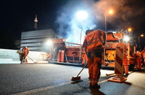 Land drückt bei Baustellen an Autobahnen aufs Gas