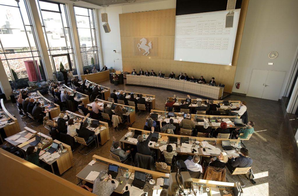 Doppelhaushalt 2018/2019: Das letzte Wort hat der Gemeinderat. Doch was sind die Aufreger? Foto: Lichtgut/Leif Piechowski