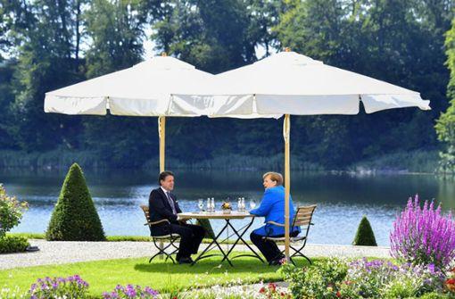 """Kanzlerin will für den Wiederaufbau Europas """"etwas Wuchtiges"""""""