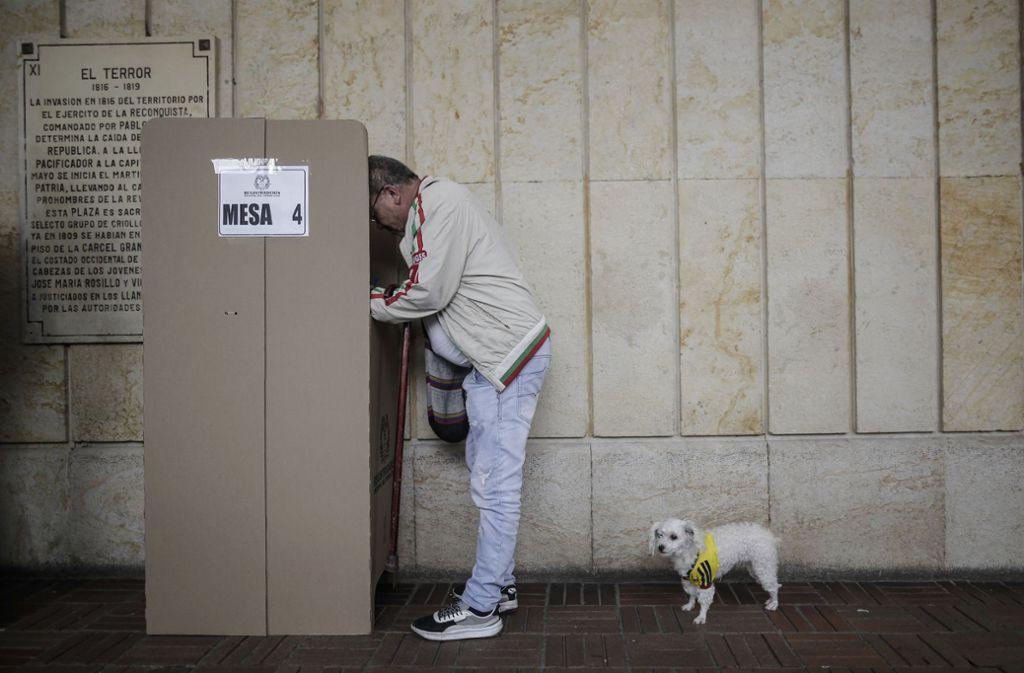 In Kolumbien wurde über Maßnahmen zur Korruptionsbekämpfung abgestimmt. Foto: AP
