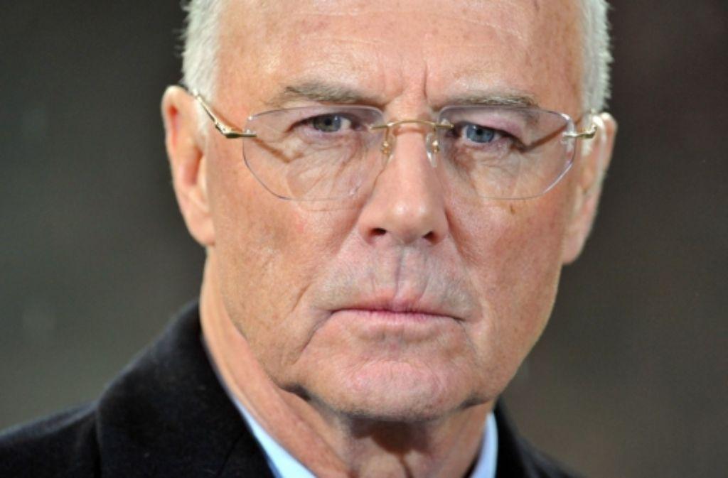 """Franz Beckenbauers verstorbener Manager """"hat ihm alles abgenommen"""". Foto: dpa"""