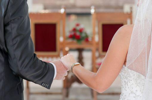 Schwere Zeiten für Brautpaare