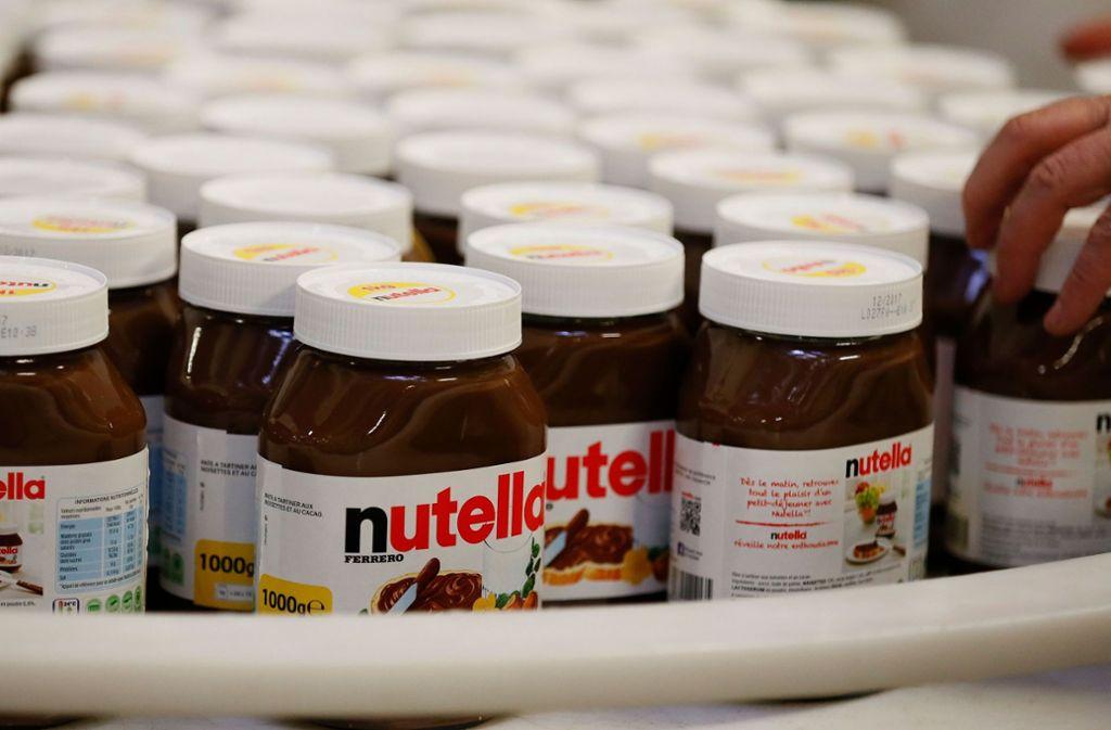 Nutella kann auf eine treue Kundschaft zählen. Foto: AFP