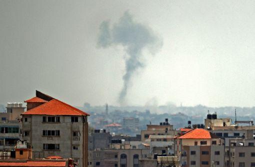 Israel greift nach Granatenbeschuss Ziel im Gazastreifen an