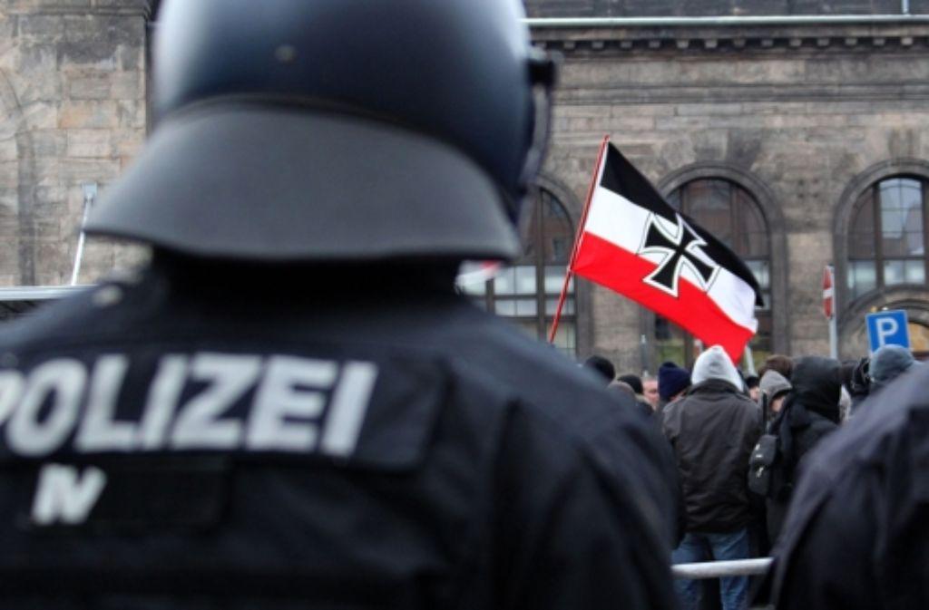 Am 1. Mai gingen bundesweit die Menschen auf die Straßen, um gegen den Rechtsextremismus zu demonstrieren. Foto: dpa-Zentralbild