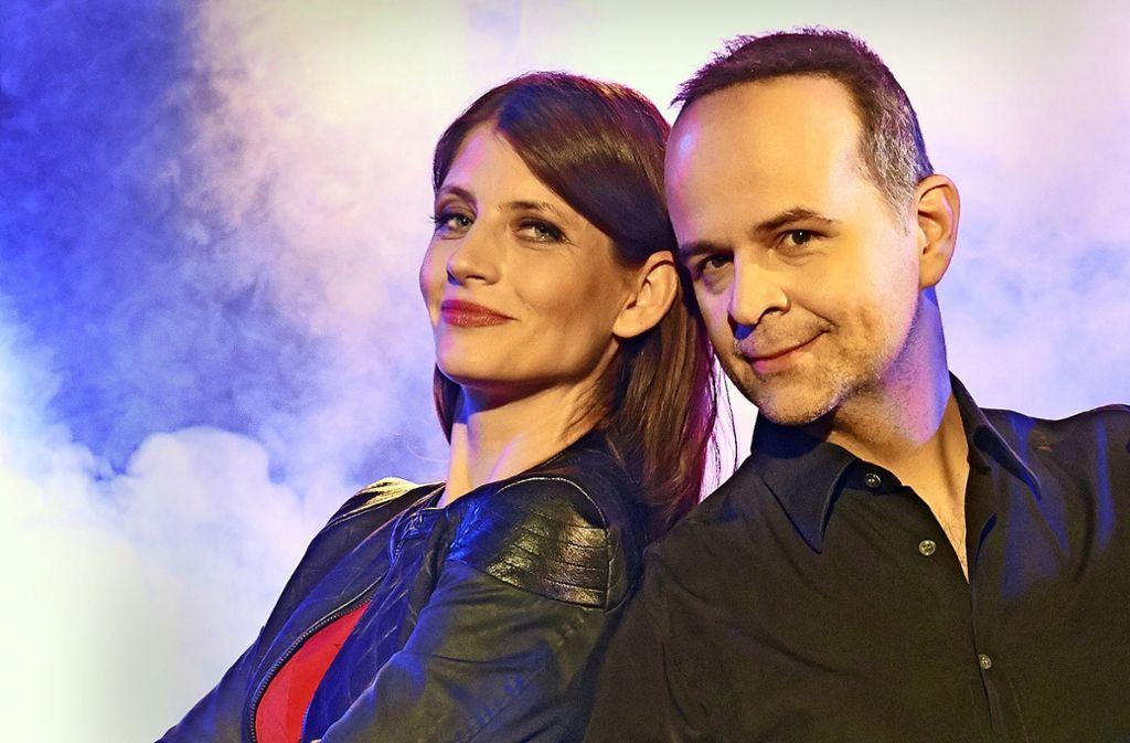 """Roxanne und Topas feiern Premiere ihres Programms """"One More"""" am 14. Februar 2019 im Theaterhaus Stuttgart. Foto: Alex Klein"""