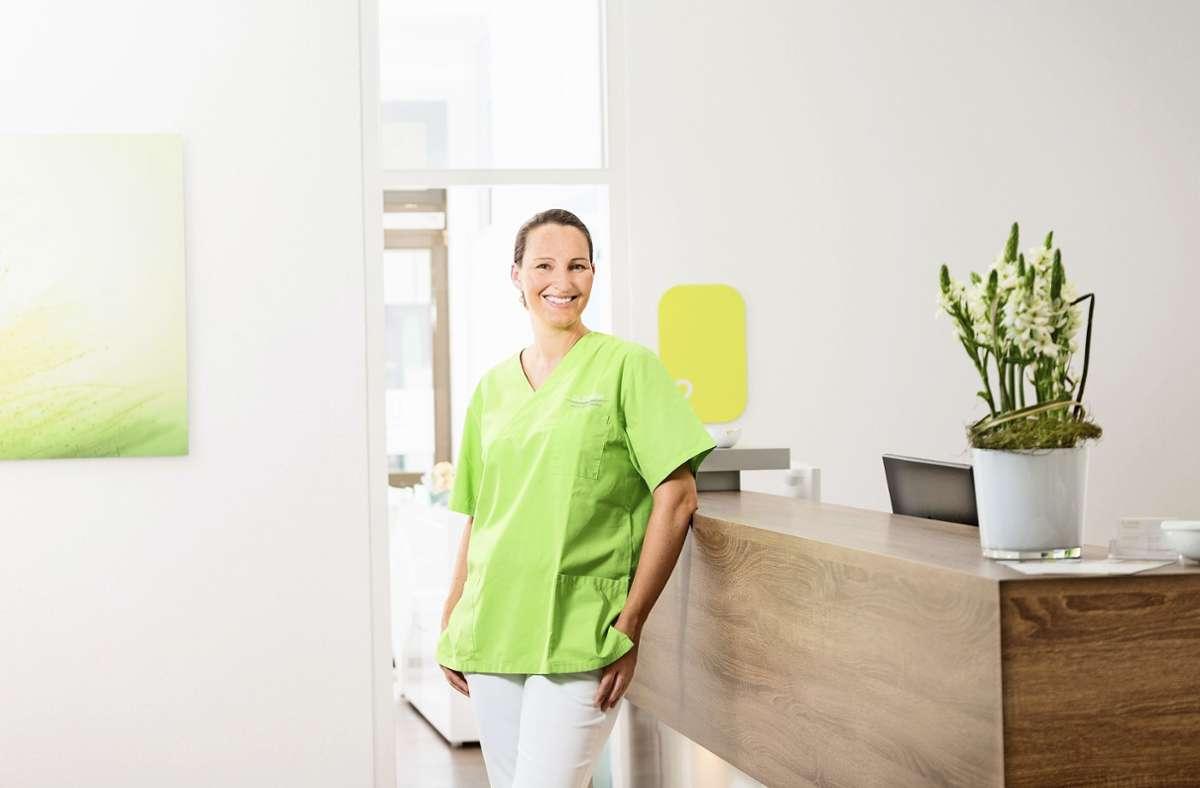 Dr. Simone Dünkler – Ihre Zahnärztin in Esslingen. Foto: /Das Foto