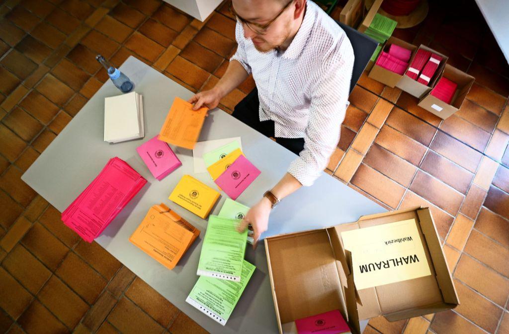 Das Auszählen in Stuttgart hat zwei Tage lang gedauert. Foto: factum/Weise
