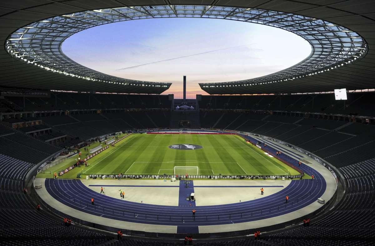 Die Fußball-EM 2024 findet in Deutschland statt. (Symbolbild) Foto: dpa/Soeren Stache