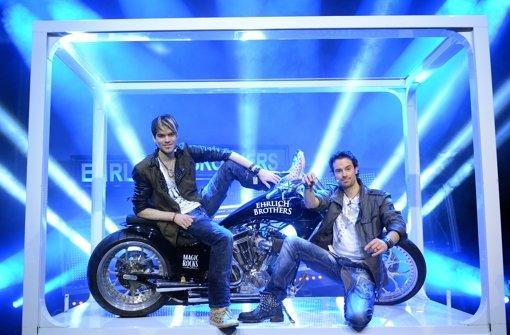 Die Ehrlich-Brothers zeigen in der Porsche-Arena ihre Zaubershow. Foto: dpa-Zentralbild