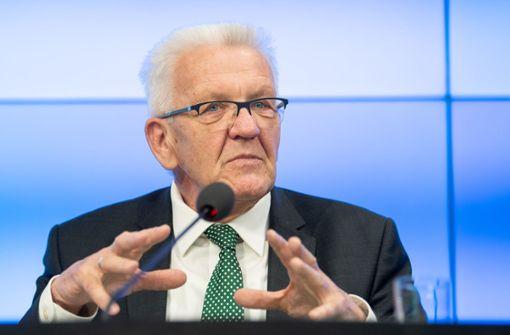 "Winfried Kretschmann bezeichnet Autopolitik als ""schwer erträglich"""