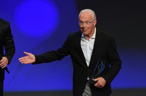 """Vorwürfe für Franz Beckenbauer """"erstunken und erlogen"""""""