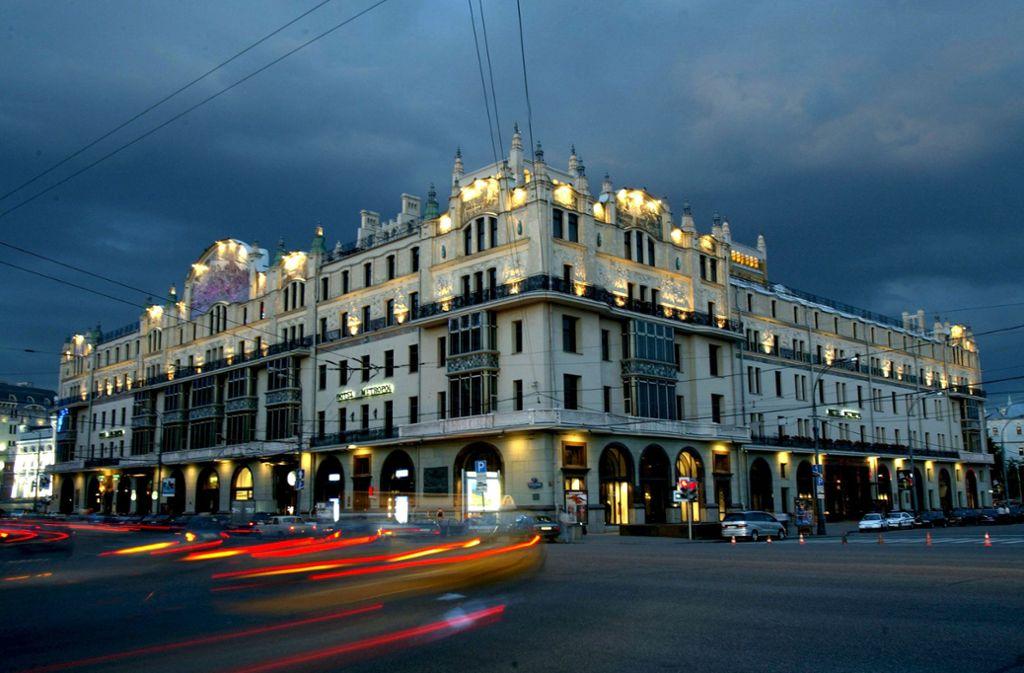 Um seinen Roman zu schreiben, hat sich Eugen Ruge im Moskauer Hotel Metropol eingemietet, dem Schauplatz der Ereignisse. Foto: imago