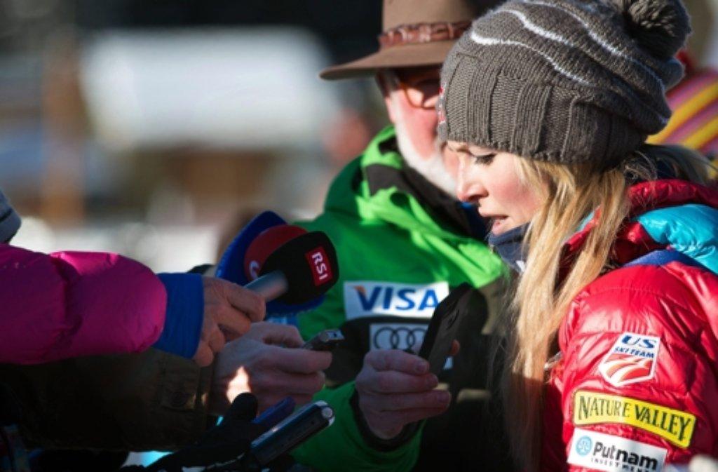 Lindsey Vonn wird in Sotschi nicht starten. Foto: dpa