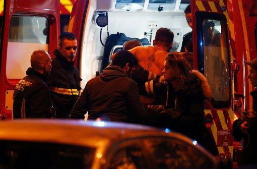 Attentäter richten ein Massaker an