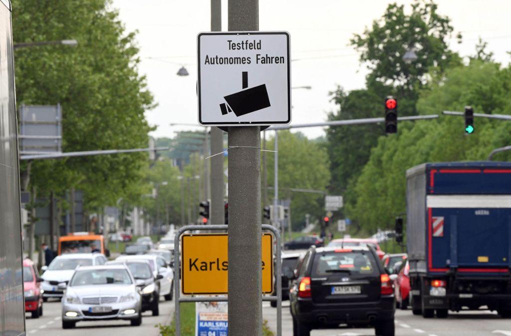 Testfeld Karlsruhe.