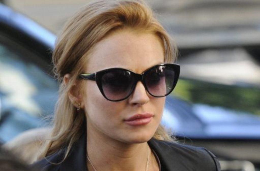 Nach viel Ärger mit der Justiz will Lindsay Lohan jetzt mit einem Fernsehfilm über Elizabeth Taylor wieder Fuß fassen. Foto: dpa