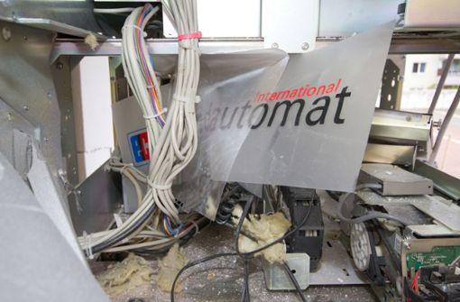 Schon 13 Geldautomaten in diesem Jahr gesprengt