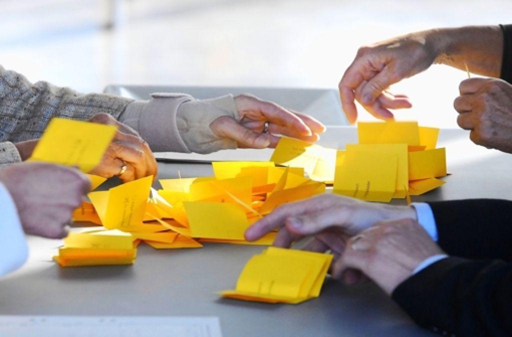 Am 24. Juli wird es ähnlich aussehen wie bei der Wahl von Edgar Hemmerich im Jahr 2007. Foto: Archiv Günter Bergmann