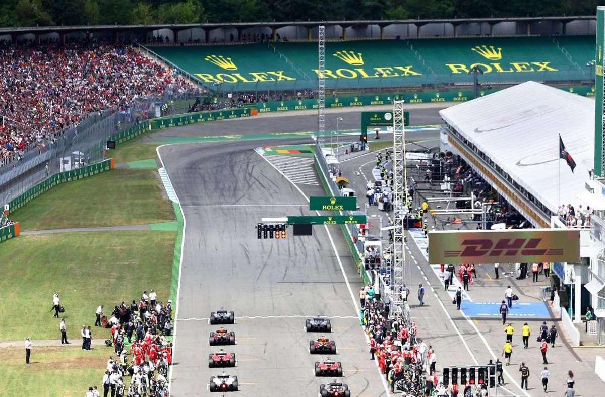 Auch Hockenheim gehört zu den großen Traditionsrennstrecken der Formel 1. Foto: dpa/Jan Woitas