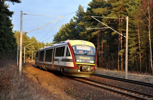 Bahn in Sachsen fährt in die  Pleite