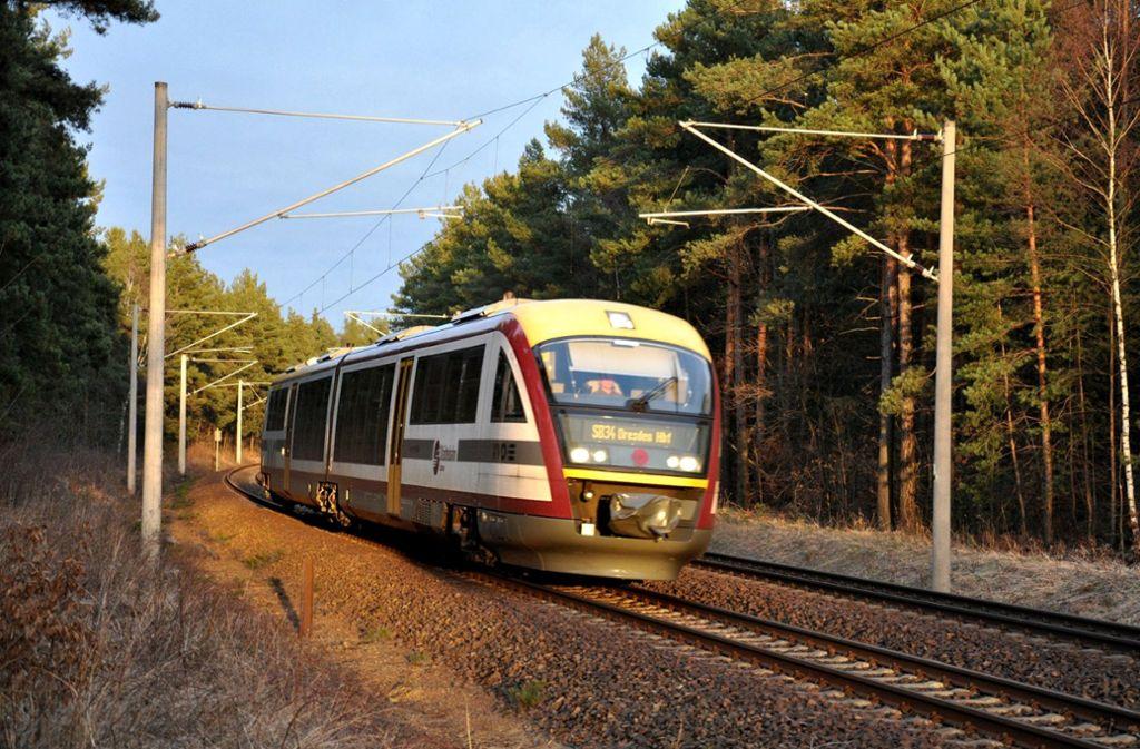 Rollte aufs Abstellgleis: die Städtebahn Sachsen Foto: Städtebahn Sachsen GmbH