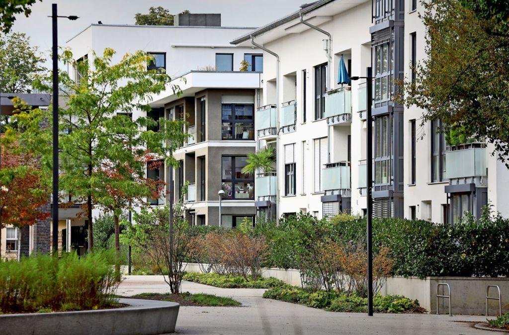 Davon können viele nur träumen: Eine Wohnstraße  in der Hartenecker Höhe. Foto: factum/Simon Granville