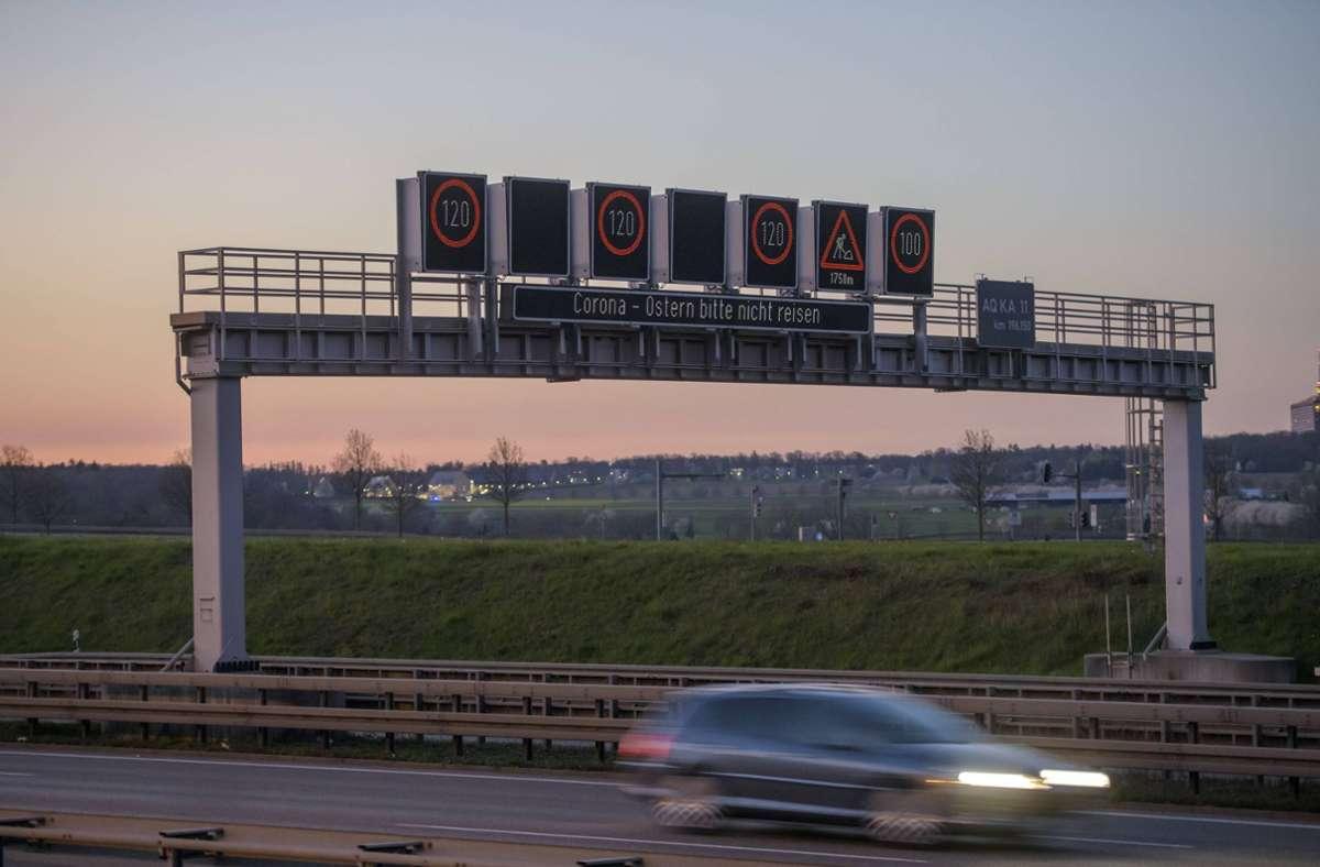 Ein Teil der A8 wird am ersten Dezemberwochenende nicht befahrbar sein. (Symbolbild) Foto: 7aktuell.de/Oskar Eyb/7aktuell.de   Oskar Eyb