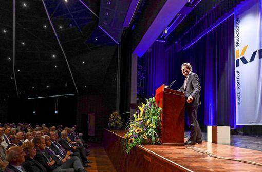 Oettinger rät den Korntalern, ihr Erbe anzunehmen