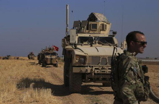 USA verlegen Streitkräfte von Syrien nach Irak