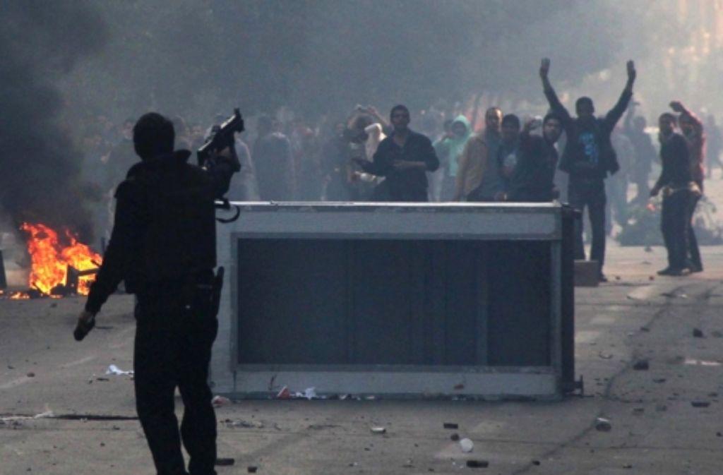 Bei Zusammenstößen zwischen Sicherheitskräften und Regierungsgegnern kamen am Samstag landesweit 49 Menschen ums Leben. 247 Menschen erlitten Verletzungen, wie das ägyptische Gesundheitsministerium am Sonntag bestätigte. Foto: dpa