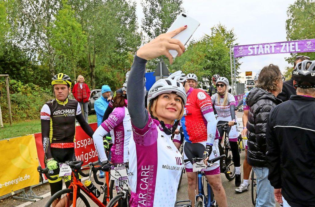 Monika Sozanska, Vize-Weltmeisterin  im Degenfechten,  begibt sich auf fremdes Terrain.  Foto: Andreas Gorr