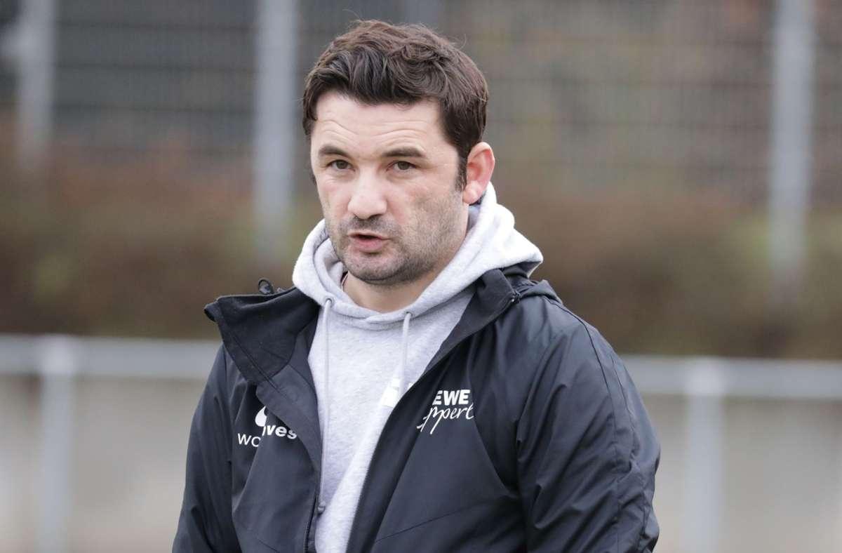 Verim Kica ist nicht mehr Trainer des SV Fellbach II. Foto: Patricia Sigerist