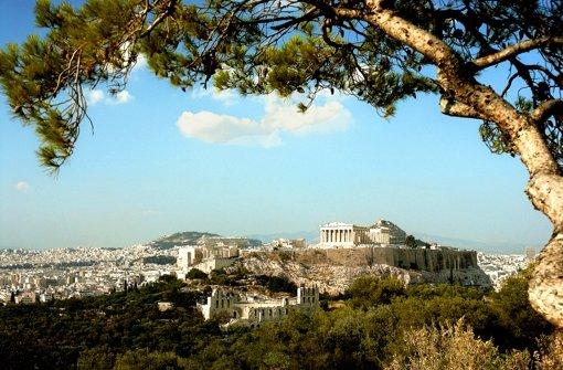 Das antike Athen war der Hort der Demokratie. Foto: The Travel Library