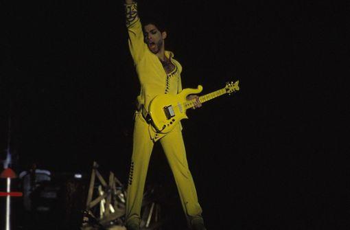 Prince spielt, was er für andere schrieb