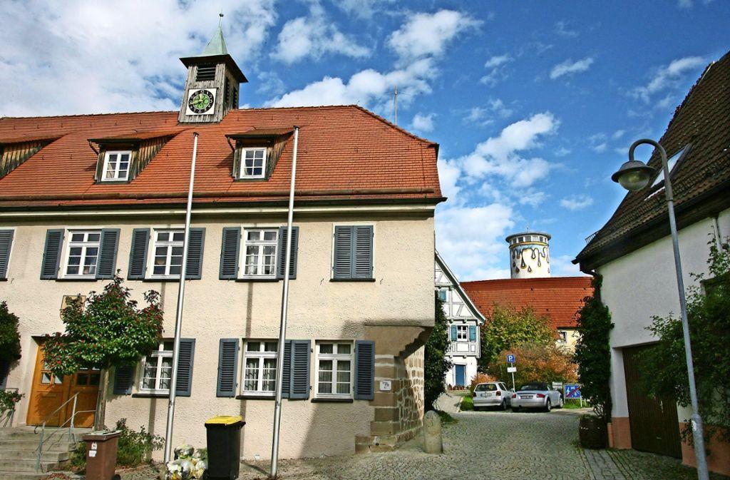 Der Angeklagte war 37 Jahre    im Lichtenwalder Rathaus beschäftigt. Foto: Horst Rudel/Archiv