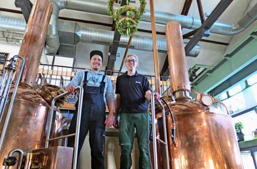 Die Brauerei sitzt auf dem Trockenen