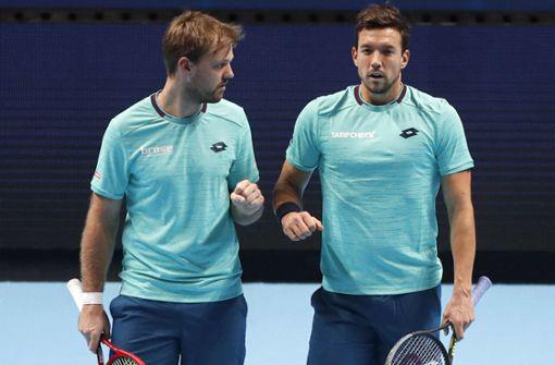 Deutsches Tennis-Doppel Krawietz/Mies verpasst Halbfinale