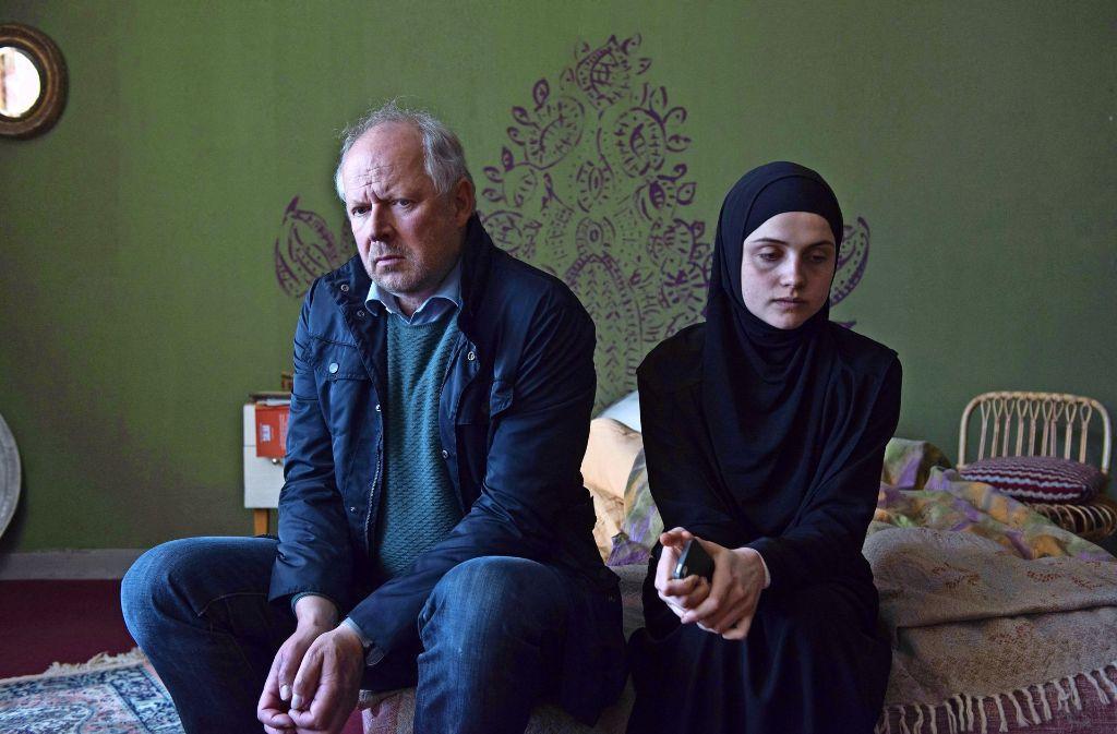Klaus Borowski (Axel Milberg) und Julia Heidhäuser (Mala Emde) Foto: NDR