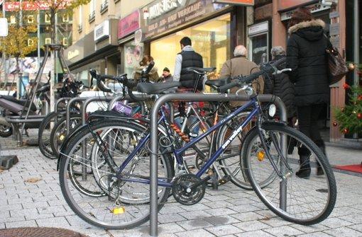 Die Werbefahrräder sind verschwunden