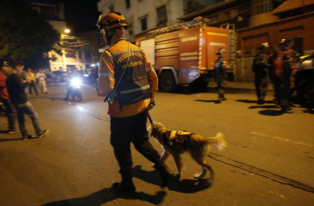 In Venezuela hat sich ein schweres Erdbeben ereignet. Foto: AP